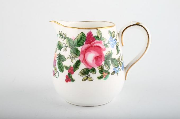 Crown Staffordshire Thousand Flowers Cream Jug 1/4pt