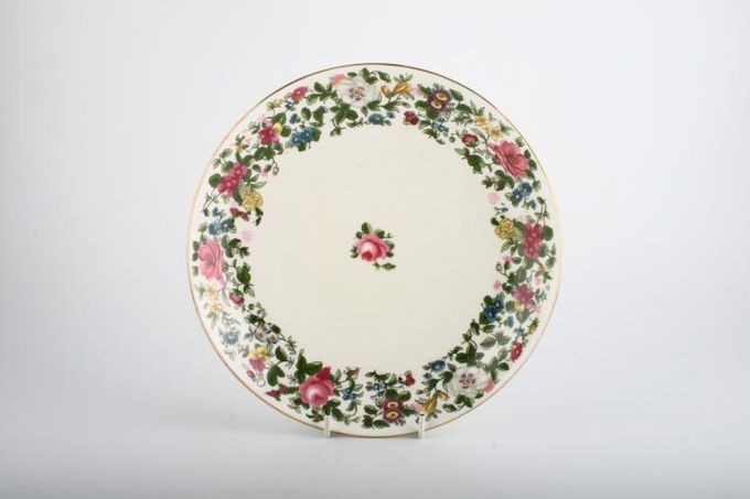 Crown Staffordshire Thousand Flowers Serving Dish Shallow 9""