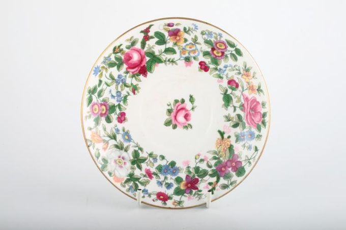 "Crown Staffordshire Thousand Flowers Breakfast Saucer 6 1/4"""