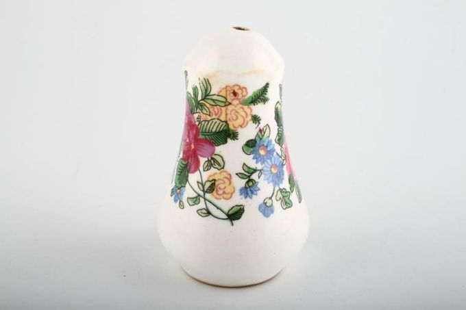 Crown Staffordshire Thousand Flowers Salt Pot 3 1/4""