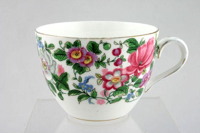 "Crown Staffordshire Thousand Flowers Teacup No Flower Inside - D 3 3/8 x 2 5/8"""