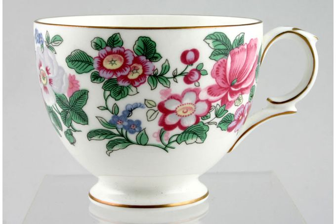 Crown Staffordshire Thousand Flowers Teacup No Flower Inside - B 3 3/8 x 2 3/4""