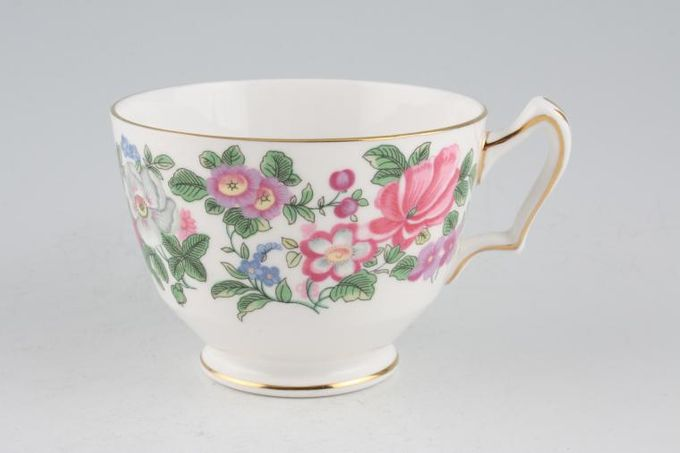 """Crown Staffordshire Thousand Flowers Breakfast Cup 3 7/8 x 2 7/8"""""""