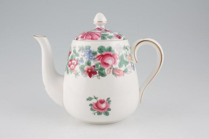 Crown Staffordshire Thousand Flowers Teapot 1pt