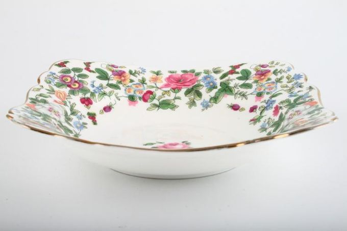 Crown Staffordshire Thousand Flowers Serving Dish Square - shallow 7 1/4""