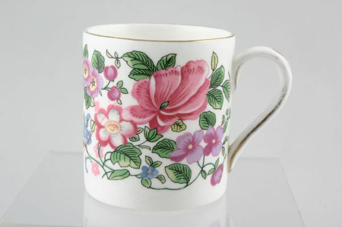 Crown Staffordshire Thousand Flowers Coffee/Espresso Can 2 1/8 x 2 1/4""