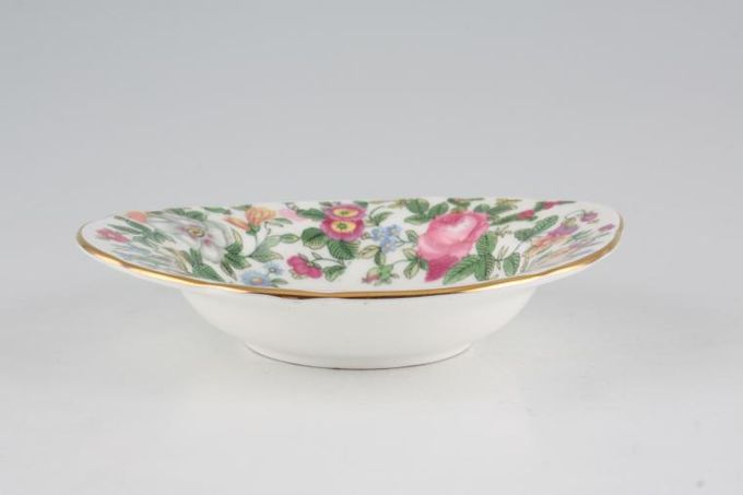 Crown Staffordshire Thousand Flowers Fruit Saucer Rimmed - Eared 5 1/2""