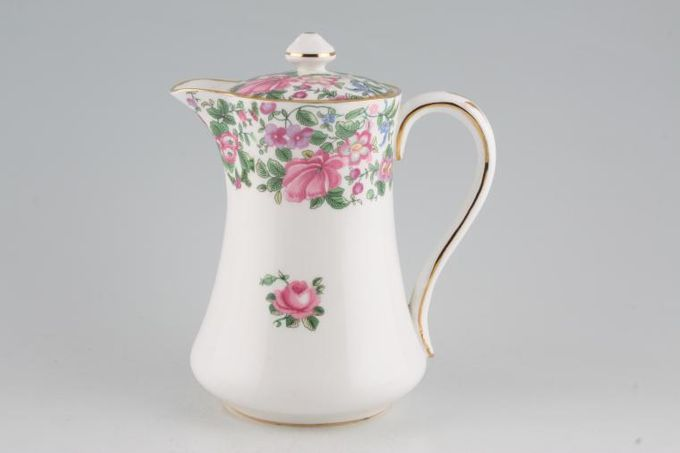 Crown Staffordshire Thousand Flowers Hot Water Jug 1 1/4pt