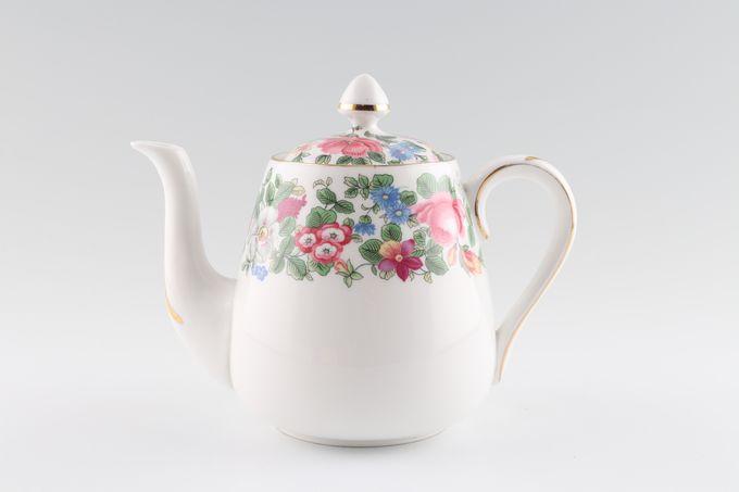 Crown Staffordshire Thousand Flowers Teapot  No centre flower 1pt