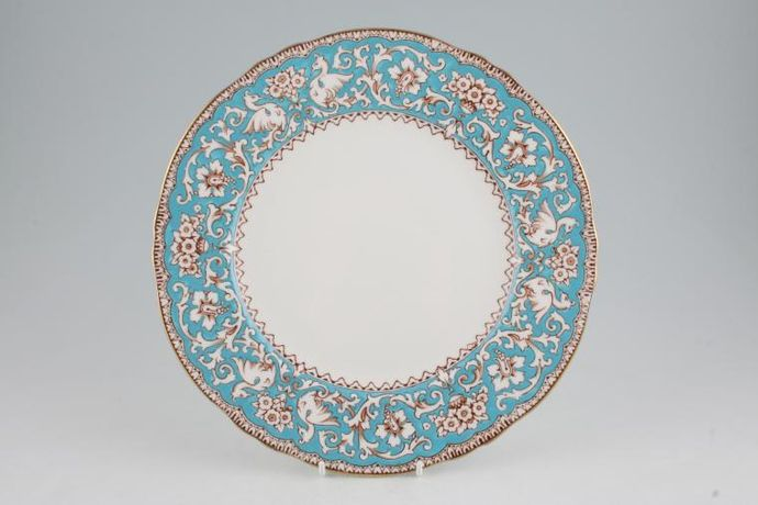 Crown Staffordshire Ellesmere - Turquoise