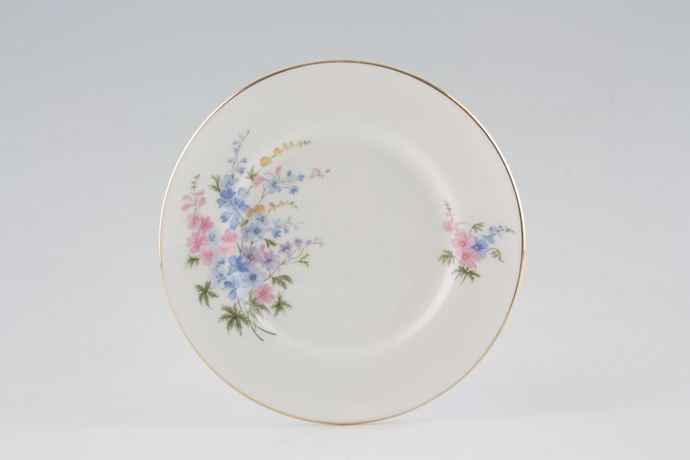 Crown Staffordshire Blue and Pink Flower Spray