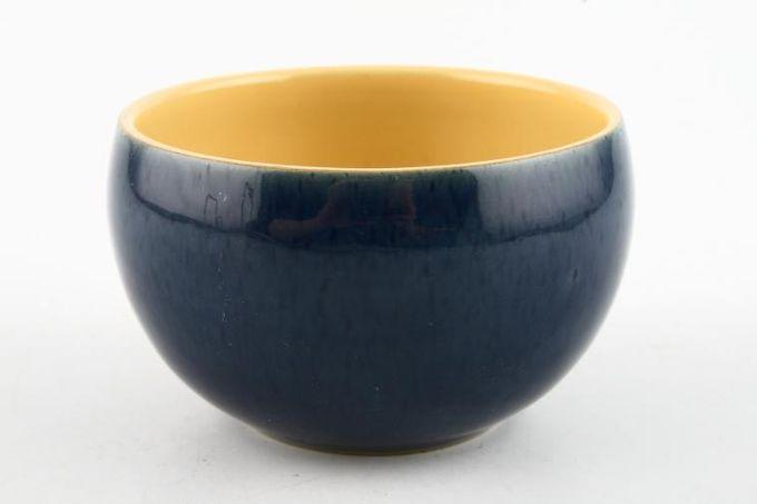 "Denby Cottage Blue Sugar Bowl - Open (Coffee) 3 1/2 x 2 1/4"""