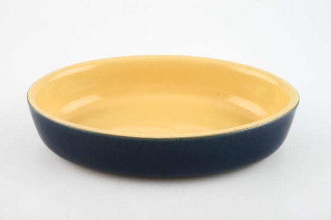 "Denby Cottage Blue Serving Dish oval - open 8 1/2 x 5 3/4 x 1 3/4"""