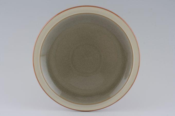 """Denby Fire Breakfast / Lunch Plate Fire Green 8 3/4"""""""