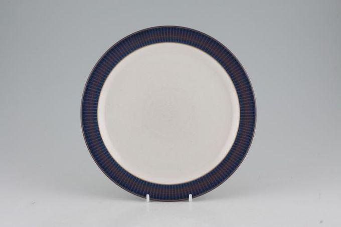 "Denby Storm Breakfast / Lunch Plate Plum 8 3/4"""