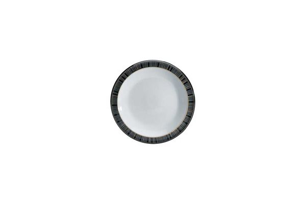 "Denby Jet Tea Plate Stripes 7 1/4"""
