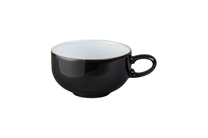 Denby Jet Teacup Black 4 1/4 x 2 1/2""