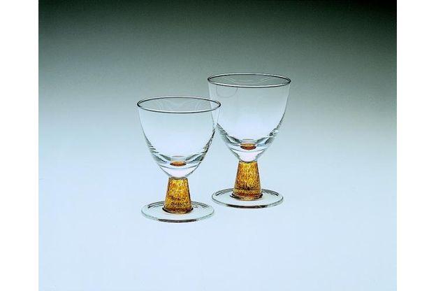 Denby Cinnamon Glass Goblet 9 fl.oz. Small