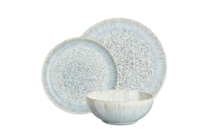 Denby Halo 12 Piece Set Speckle