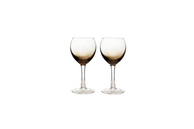 Denby Halo Pair of White Wine Glasses