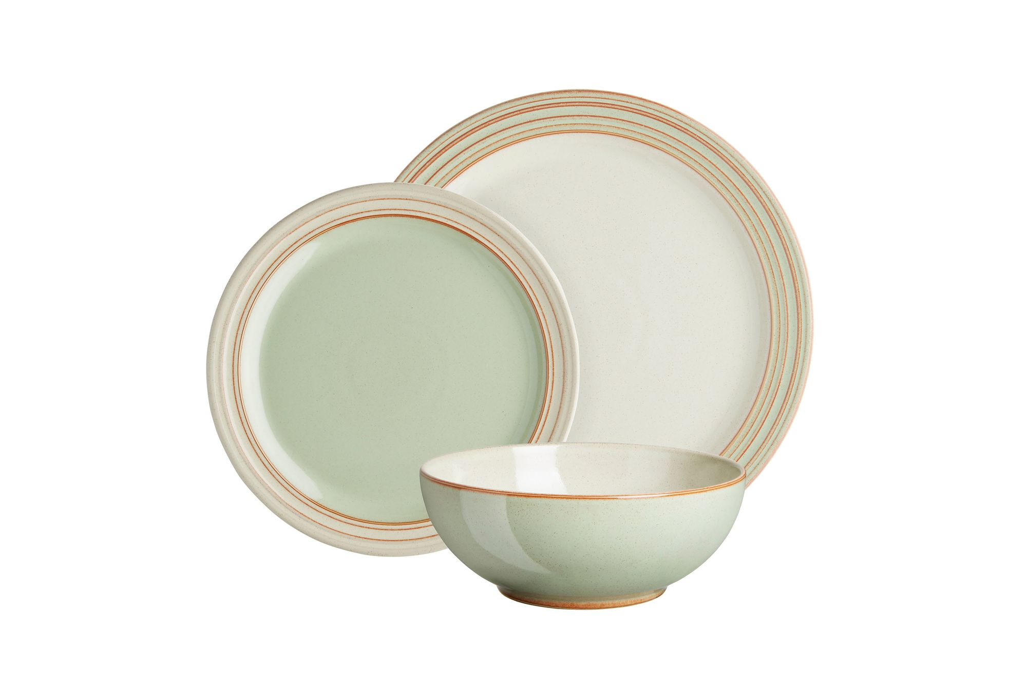 Denby Heritage Orchard 12 Piece Set 4 x Dinner Plate, 4 x Medium Plate, 4 x Soup /Cereal Bowl thumb 2