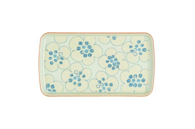 Denby Heritage Orchard Rectangular Platter ACCENT 26 x 14.5cm