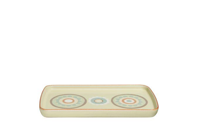 Denby Heritage Veranda Rectangular Platter ACCENT 26 x 14.5cm