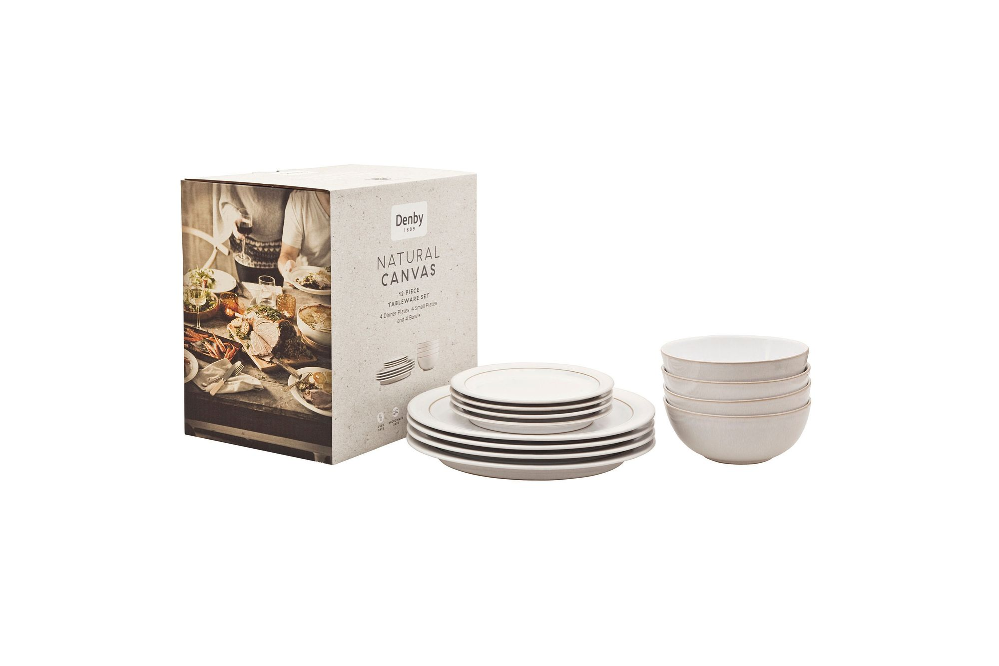 Denby Natural Canvas 12 Piece Set thumb 2