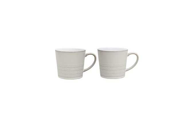 Denby Natural Canvas Mug - Set of 2 Texture