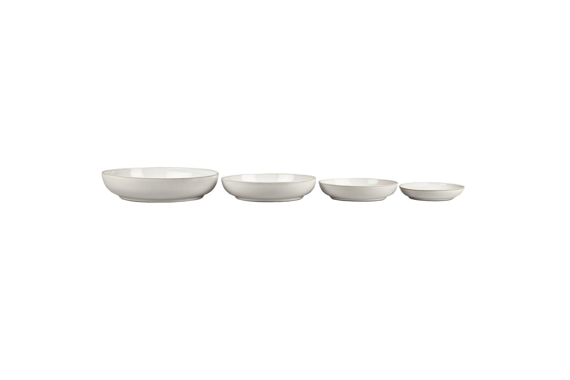 Denby Natural Canvas 4 Piece Nesting Bowl Set thumb 2