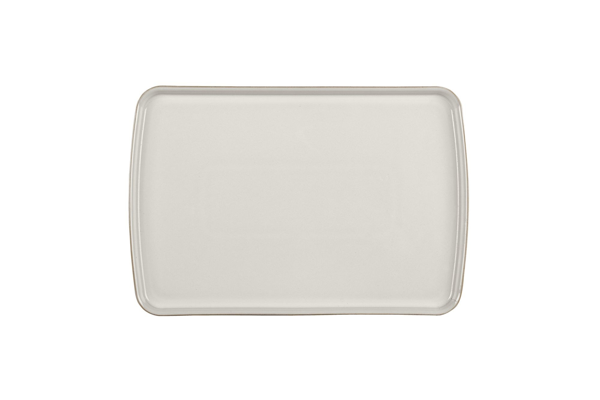 Denby Natural Canvas Rectangular Platter 39 x 26cm thumb 1