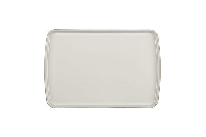 Denby Natural Canvas Rectangular Platter 39 x 26cm