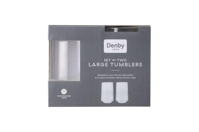 Denby Natural Canvas Tumbler - Set of 2 Large
