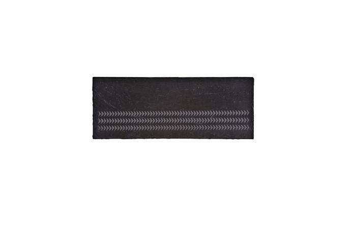 Denby Natural Canvas Slate Platter - Set of 2 30 x 10cm