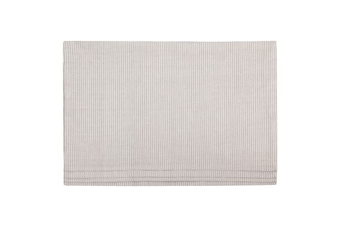 Denby Natural Canvas Placemats - Set of 4 Cotton Placemats 38 x 48cm