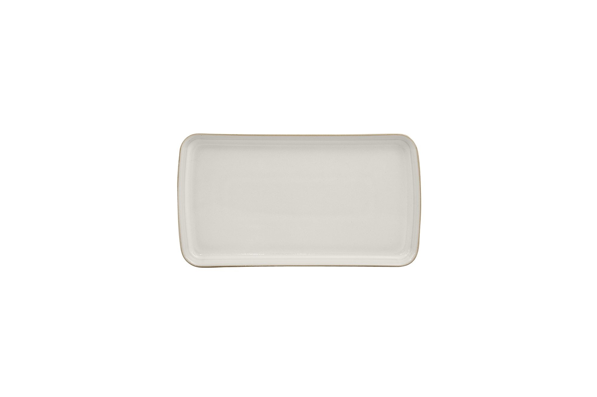 Denby Natural Canvas Rectangular Platter 26 x 14.5cm thumb 1