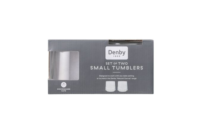 Denby Natural Canvas Tumbler - Set of 2 SMALL