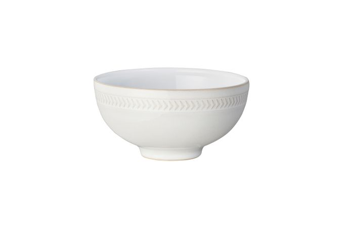 Denby Natural Canvas Rice Bowl TEXTURED 13cm