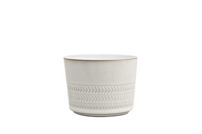 Denby Natural Canvas Sugar Bowl - Open textured - Also ramekin 9 x 7cm
