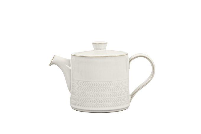Denby Natural Canvas Teapot TEXTURED