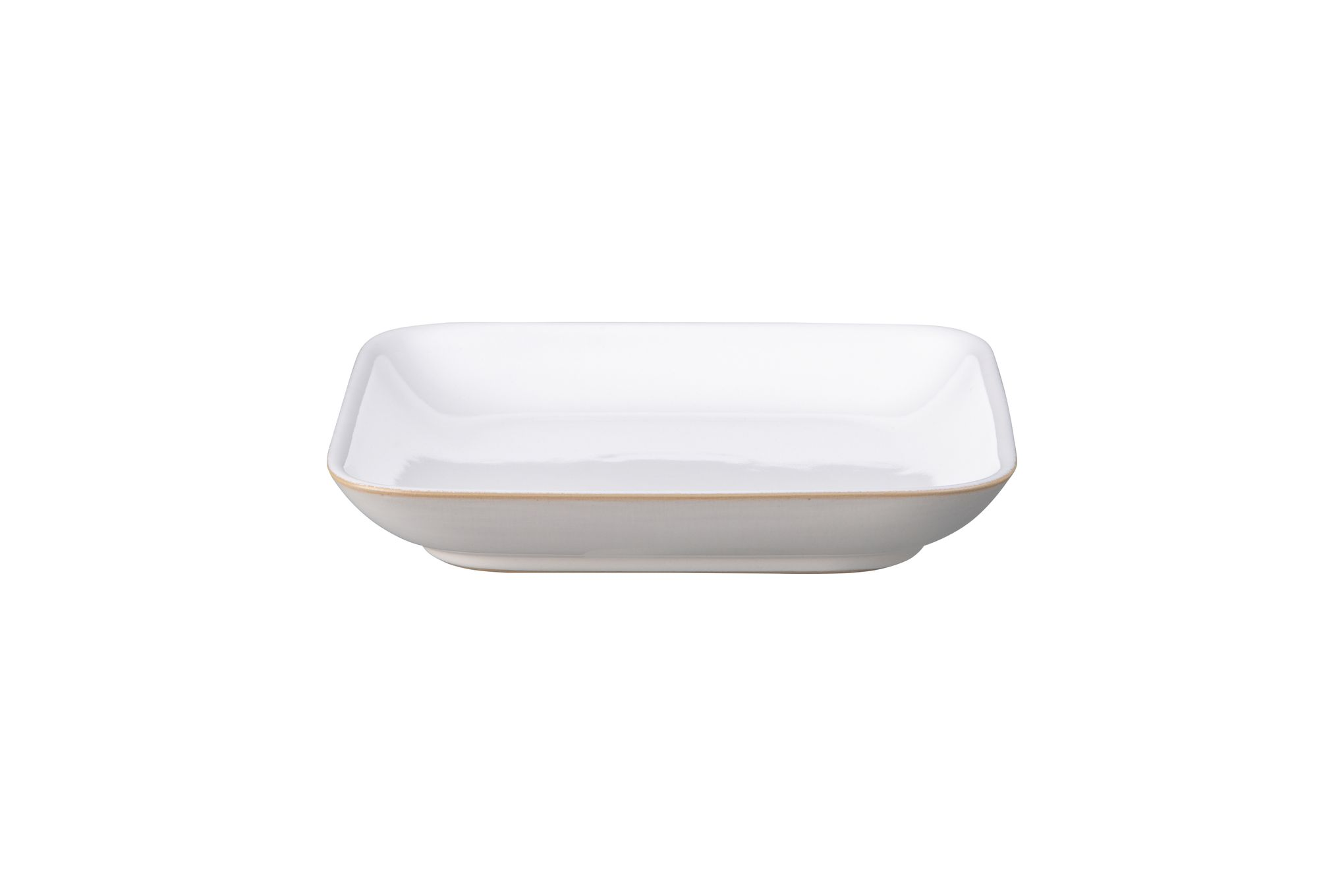 Denby Natural Canvas Square Plate 17 x 3cm thumb 1