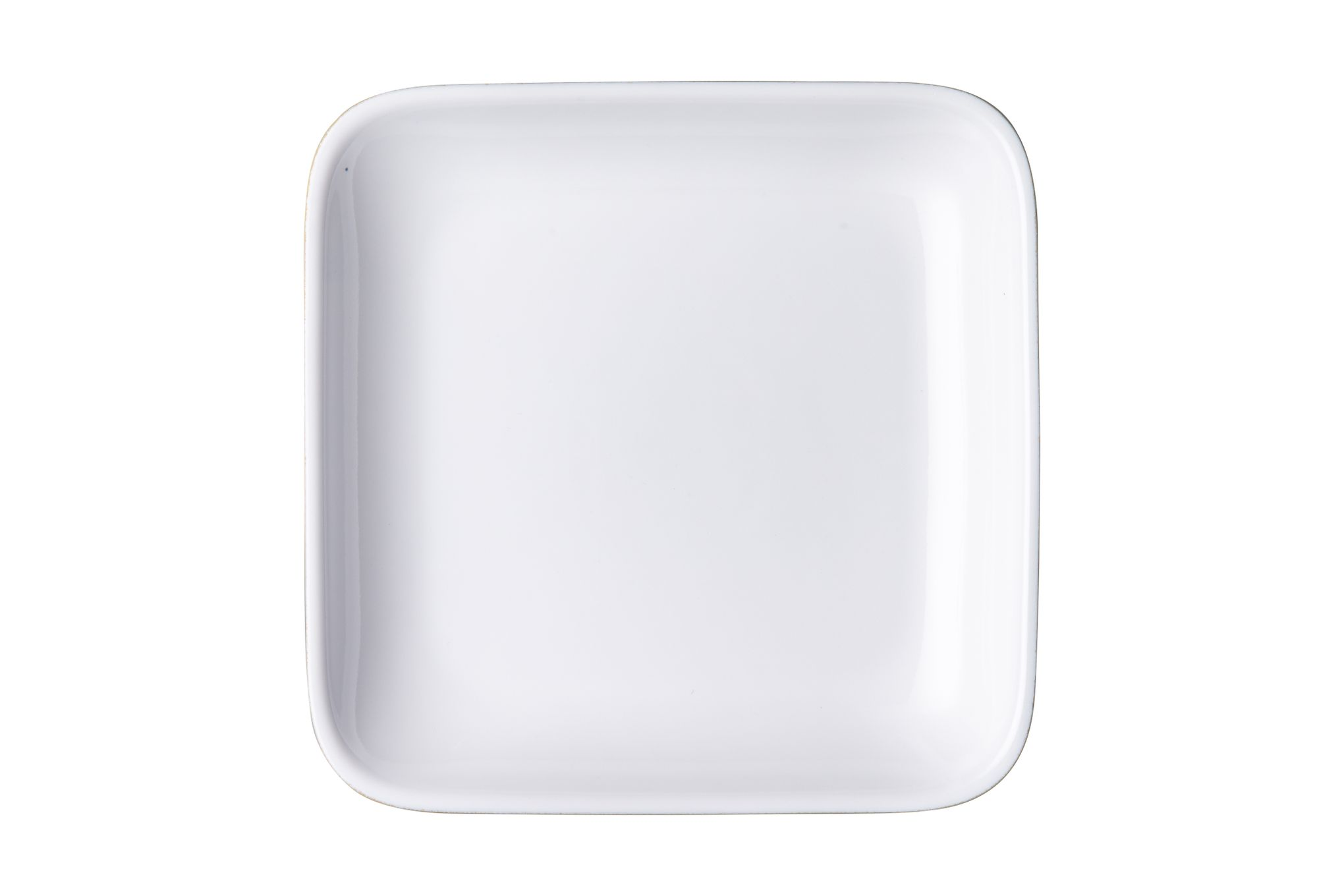 Denby Natural Canvas Square Plate 17 x 3cm thumb 2
