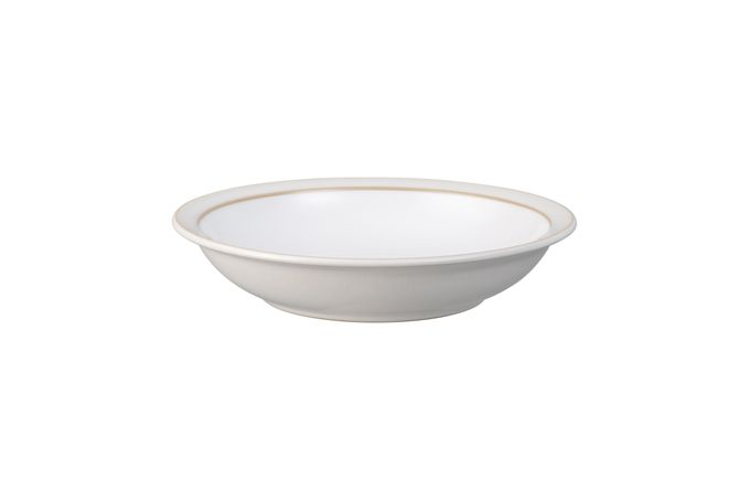 Denby Natural Canvas Rimmed Bowl Shallow