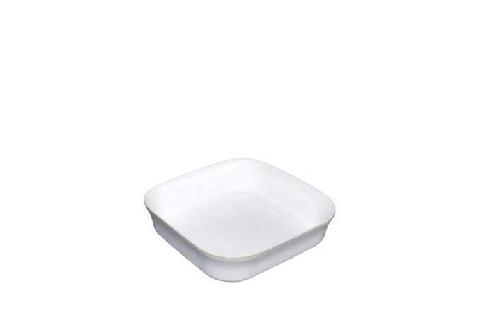 Denby Natural Canvas Oven Dish Square 24 x 24 x 6.5cm