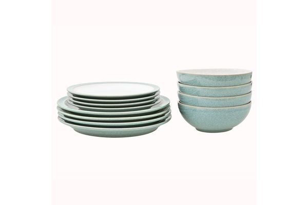Denby Elements - Green 12 Piece Set