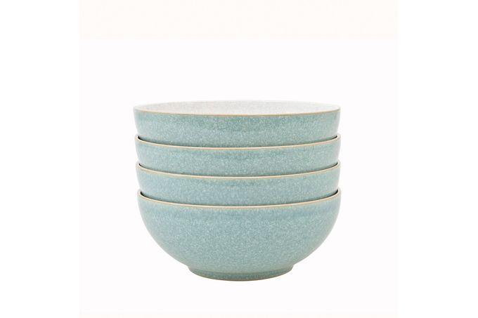 Denby Elements - Green Cereal Bowl - Set of 4 17cm