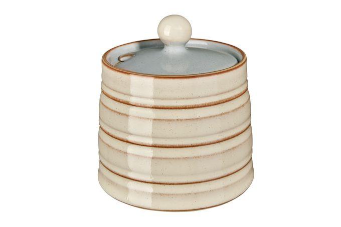 Denby Heritage Flagstone Sugar Bowl - Lidded (Tea)