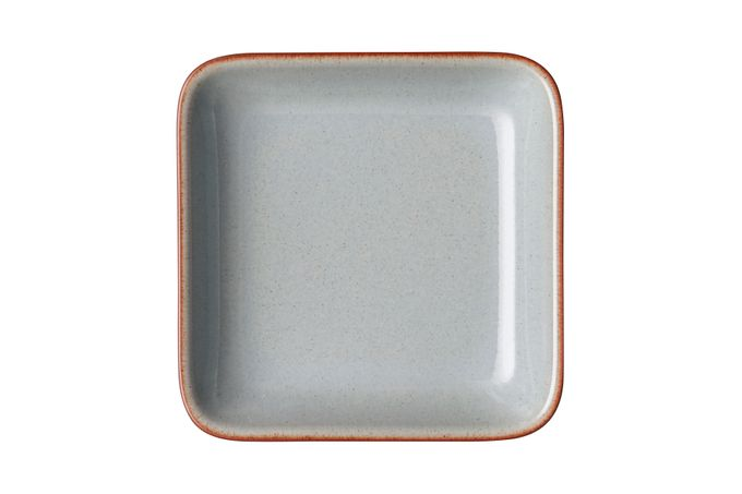 Denby Heritage Flagstone Square Plate 14 x 3cm