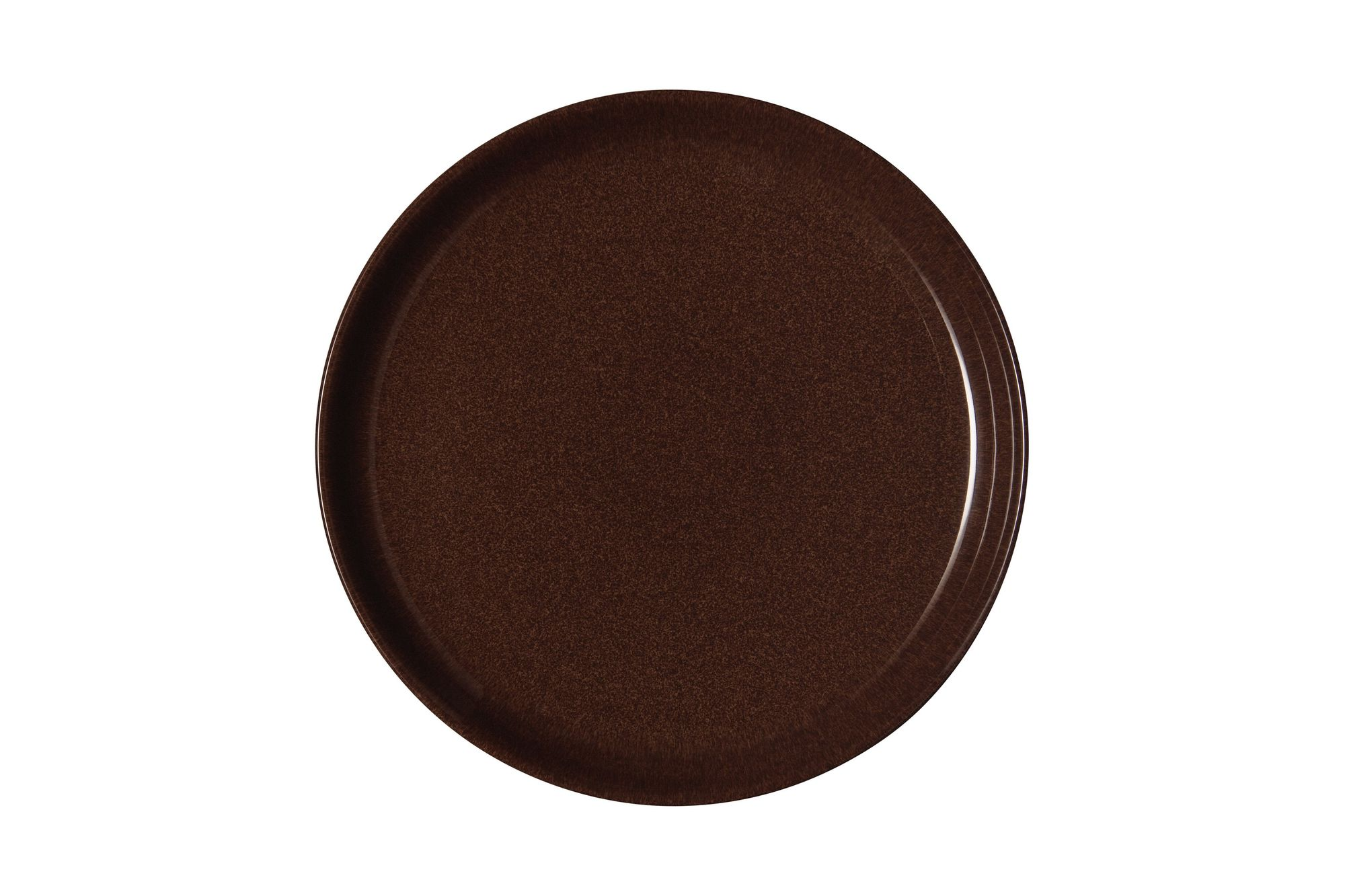Denby Studio Craft Dinner Plate Walnut - Coupe 26cm thumb 1