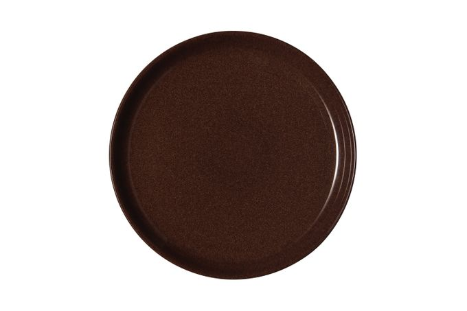 Denby Studio Craft Dinner Plate Walnut - Coupe 26cm